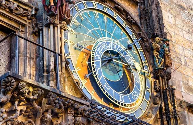 布拉格舊城廣場天文鐘