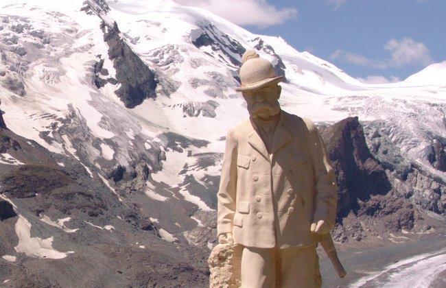 大鐘山-奧地利皇帝法蘭茲‧約瑟夫一世的雕像