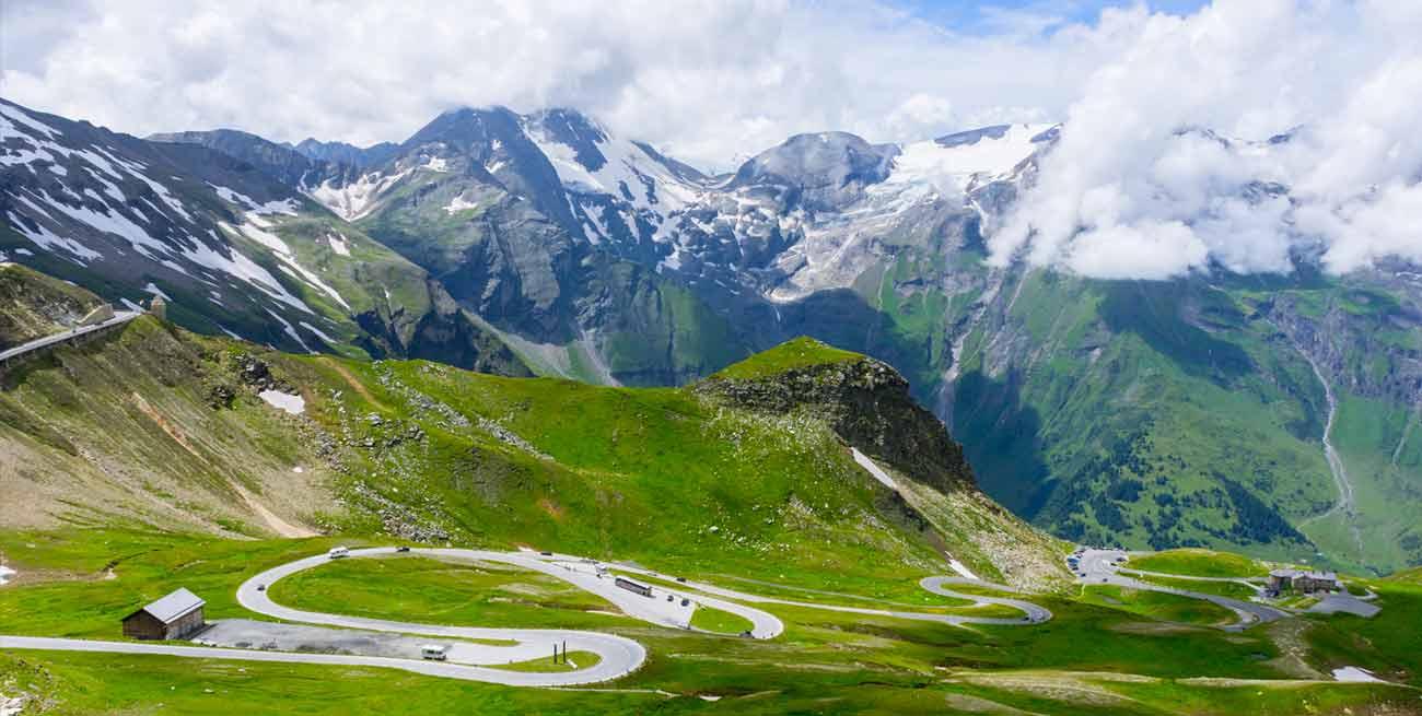 奧地利大鐘山冰川景觀公路