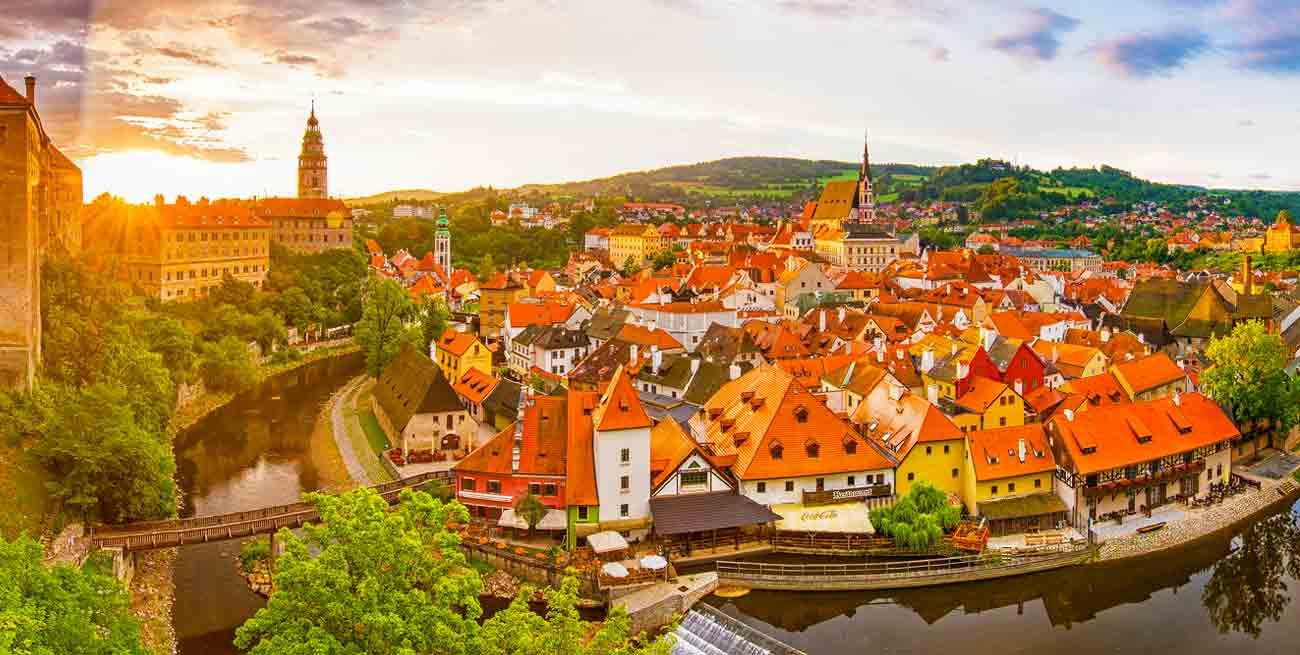 捷克最美麗小鎮「庫倫諾夫」