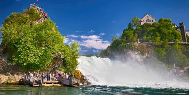 Rheinfall萊茵瀑布