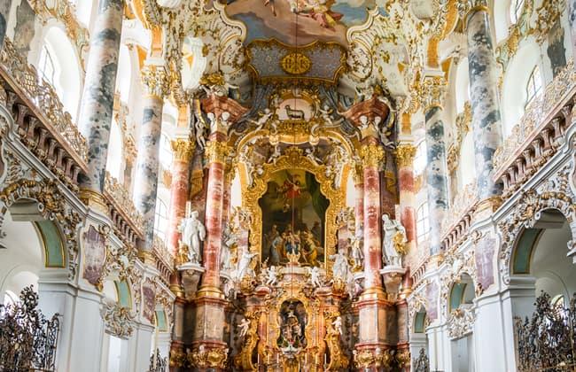 Wieskirche威斯教堂