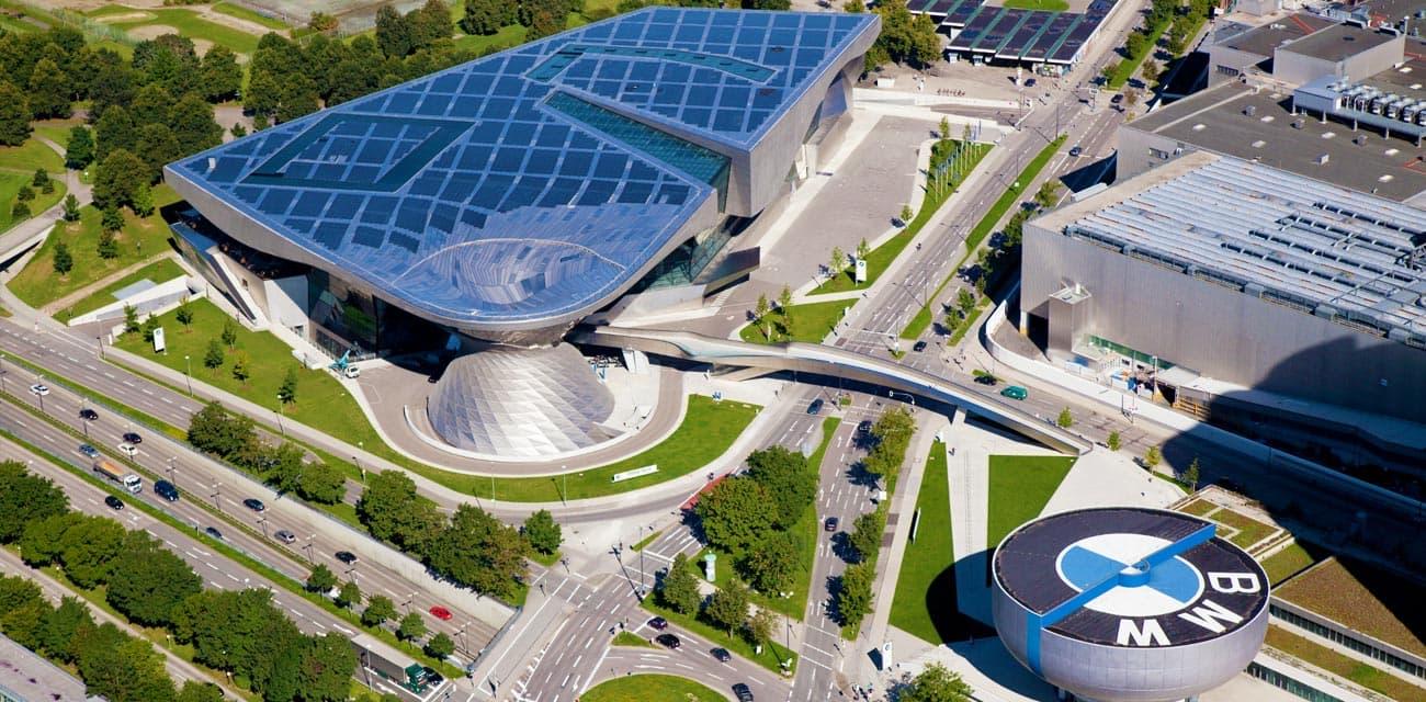 Munich慕尼黑的BMW展示中心