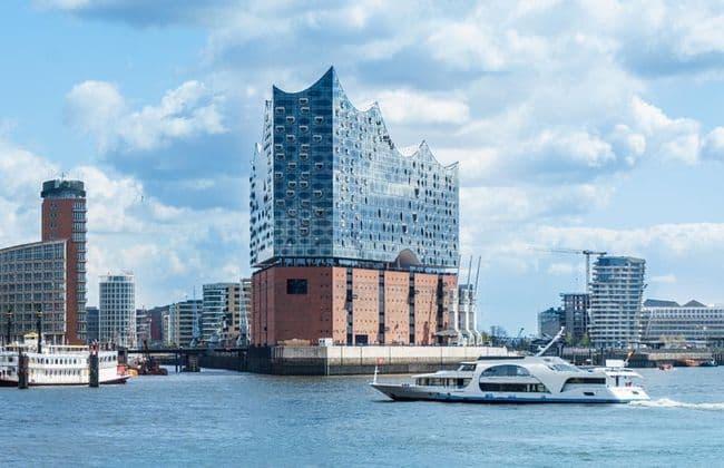 Hamburg漢堡的易北愛樂廳Elbphilharmonie