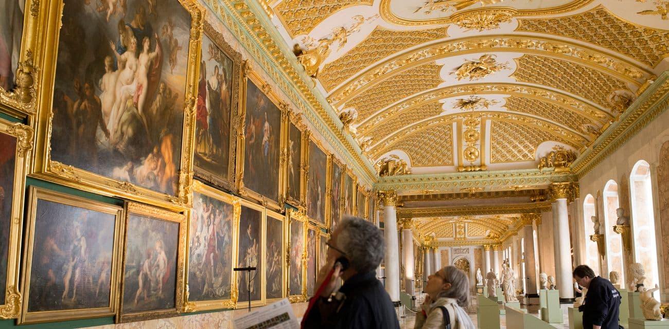 波茨坦Potsdam的忘憂宮Schloss Sanssouci