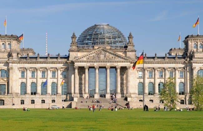 Berlin柏林的國會大廈
