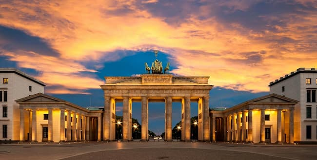 Berlin柏林的布蘭登堡門