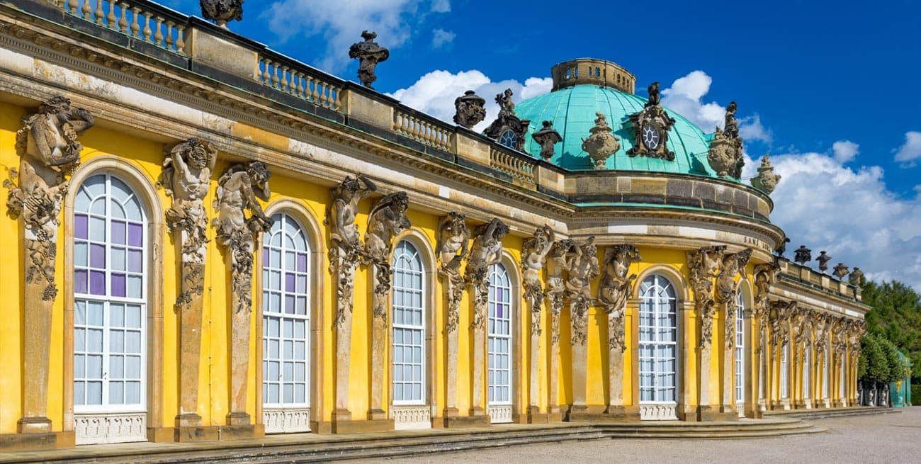 Potsdam波茨坦SanssouciPalace忘憂宮