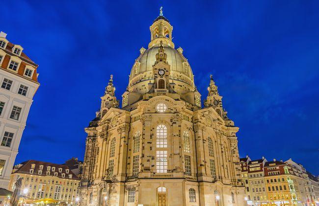 Dresden德勒斯登的聖母教堂