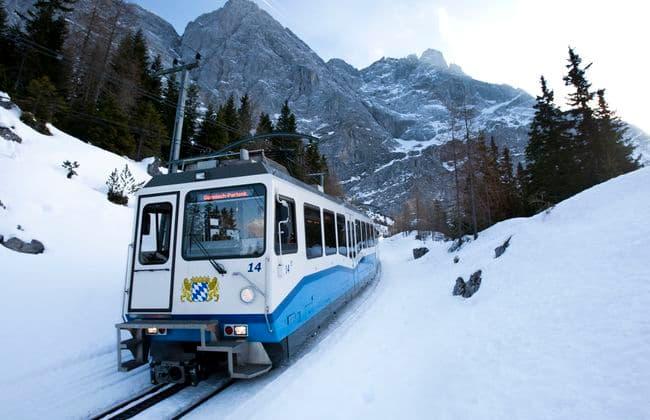 Zugspitze楚格峰齒軌列車