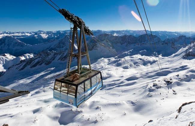 Zugspitze楚格峰纜車