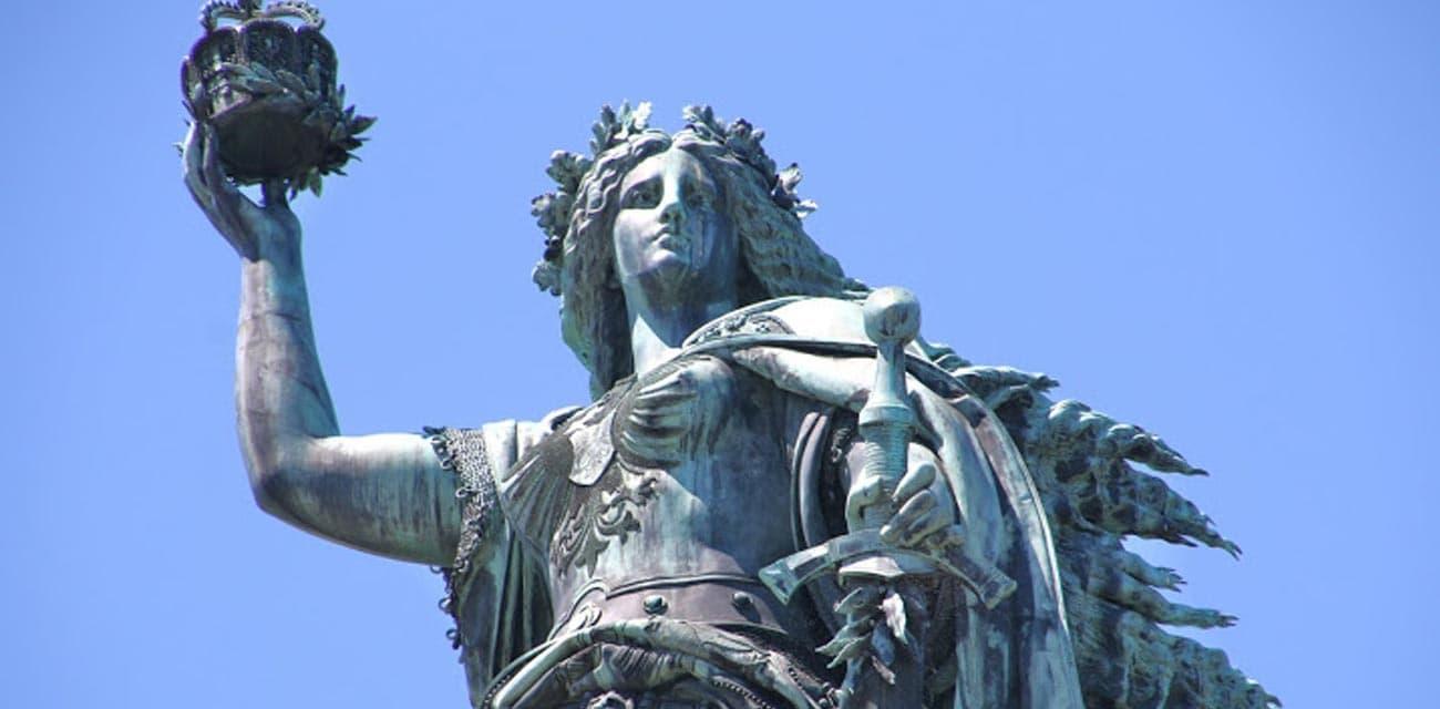 Rudesheim呂德斯海姆的日耳曼勝利女神像