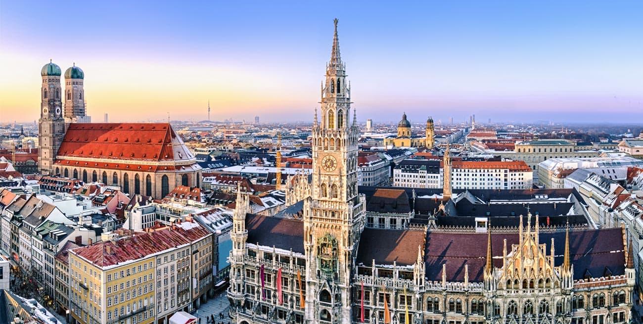 慕尼黑Munich新市政廳Neues Rathaus