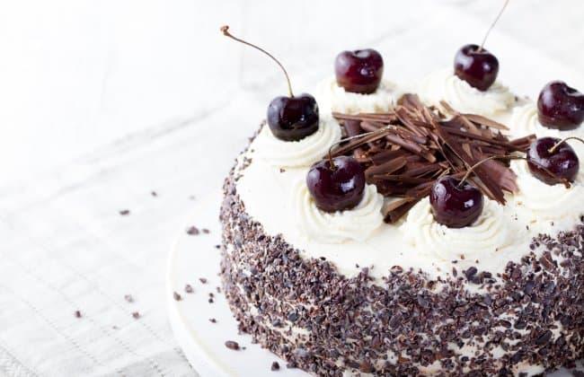 黑森林蛋糕Schwarzwälder Kirschtorte