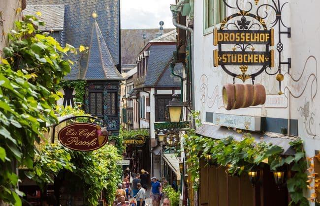 Rüdesheim呂德斯海姆的畫眉鳥小巷
