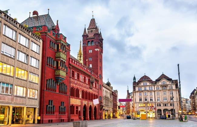 巴塞爾Basel市政廳
